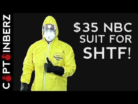$35 NBC Suit for SHTF! (Nuclear, Biological, Chemical & Epidemic Events)