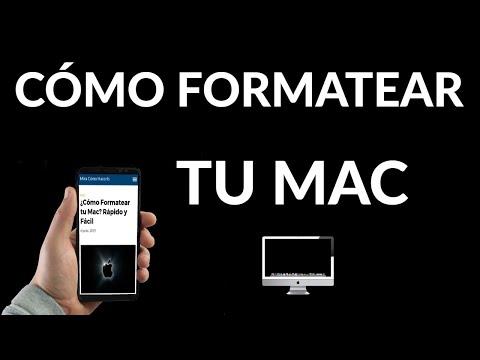 Cómo Formatear tu Mac | Rápido y Fácil