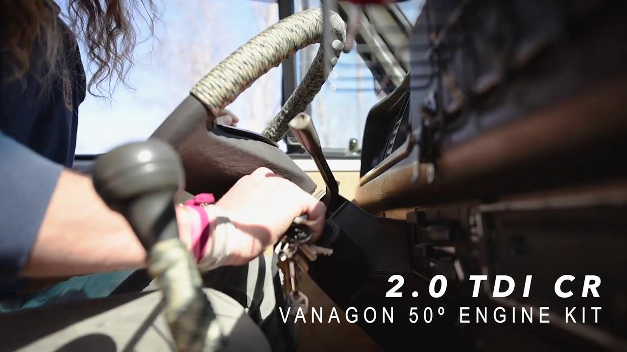 Boxeer turn key 2 0 TDI CR Vanagon 50 degree kit