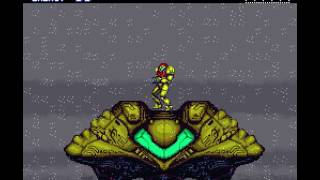 [TAS] SNES Super Metroid (any% glitched) by Sniq, total, Aran;Jaeger in 07:09.676