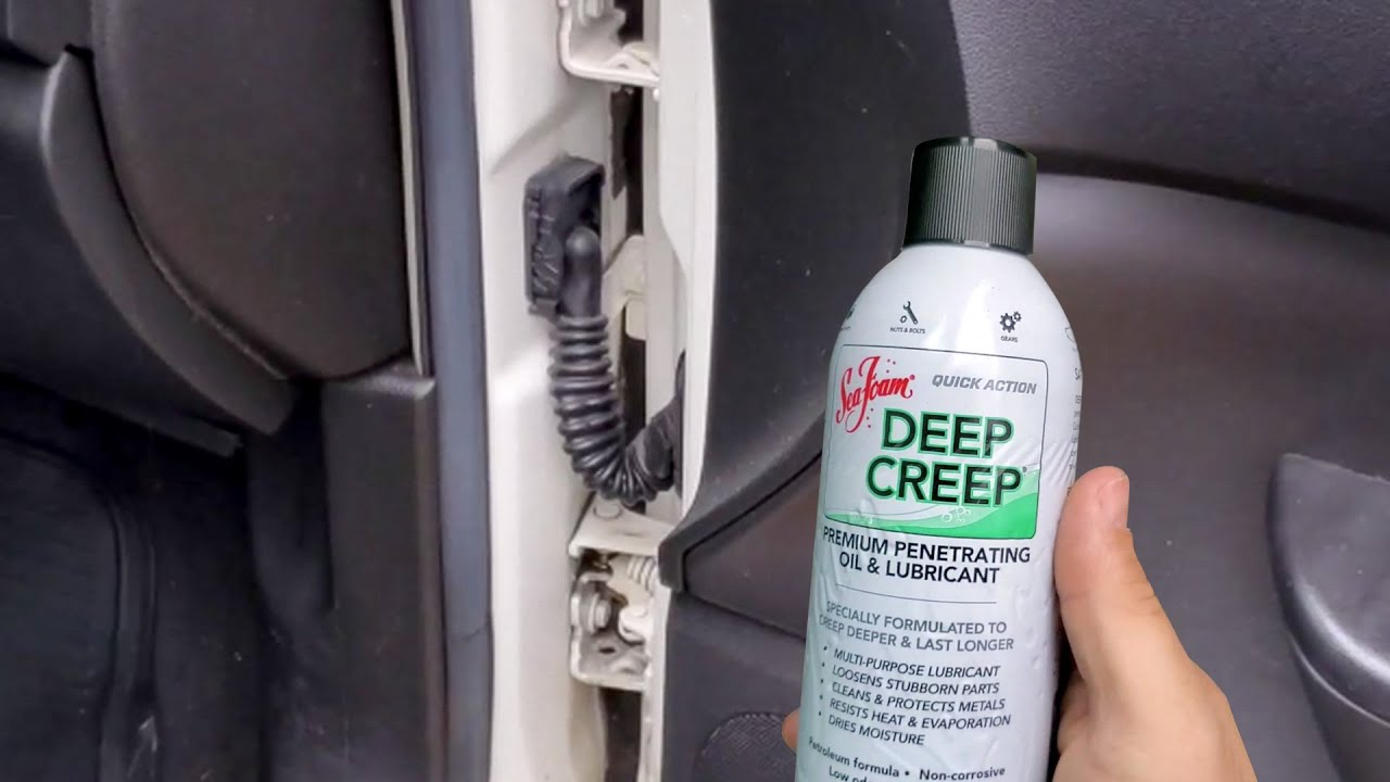 Deep Creep fixes a squeaky car door hinge ft. Curtis B.