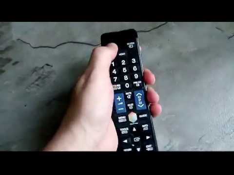 Как привязать пульт к телевизору samsung smart tv