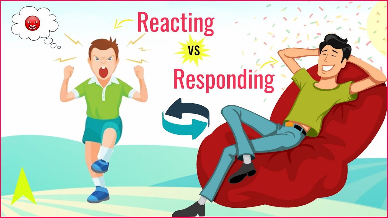 """Download """"Reacting Vs Responding"""" - Project Happiness 
