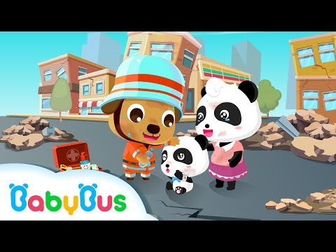 Earthquake Safety Tips Song + Video | BabyBus Original | Self-help for everyone