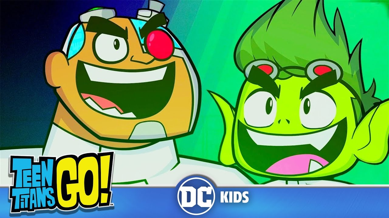 Teen Titans Go  Science Can Do Anything  Dc Kids - Youtube-4079