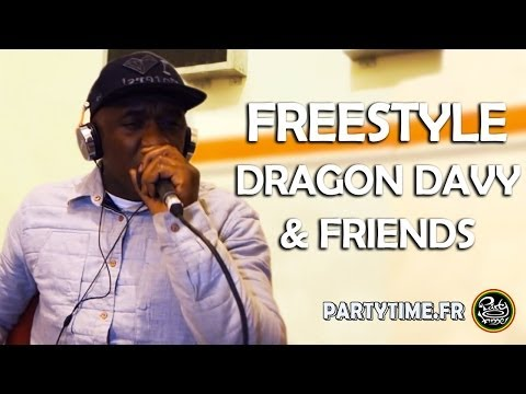 DRAGON DAVY & Friends - Freestyle at PartyTime Radio Show - 2013