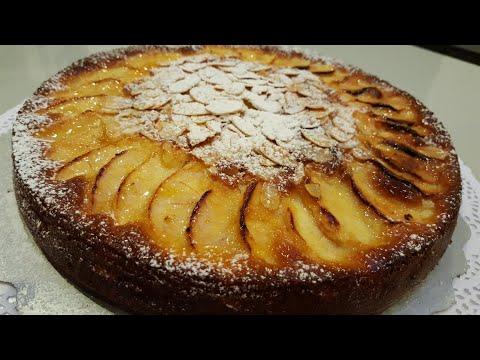 كيكة-التفاح-الطرية-gâteaux-moelleux-aux-pommes