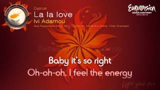 """Ivi Adamou - """"La La Love"""" (Cyprus) - [Karaoke version]"""