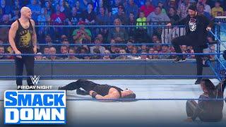 Roman Reigns vs. Shinsuke Nakamura ends in chaos thanks to Baron Corbin | FRIDAY NIGHT SMACKDOWN