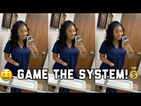 NURSE PAY SUCKS!! || Learn To GAME THE SYSTEM || DOUBLE Your INCOME GUARANTEED TO WORK || Carle Rae