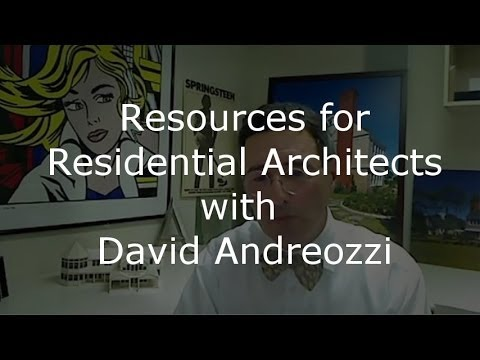 Protecting The Value Of Architects: Interview With Architect David Andreozzi