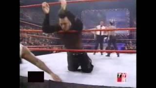 Right to Censor vs. The Hardy Boyz (WWF Tag Team Championship) (WWF RAW 11/6/00)