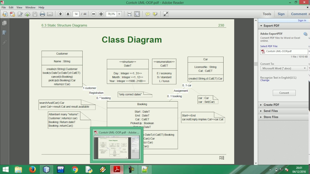Implementasi class diagram rental mobil youtube implementasi class diagram rental mobil ccuart