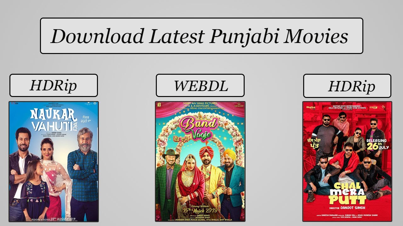 Download Latest Punjabi Movies 2019 in Full HD New Website to Download New Punjabi Movies