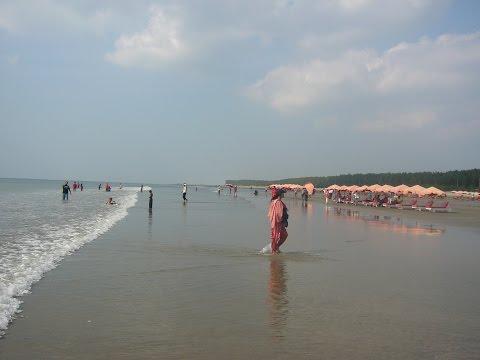 Beautiful scenery at cox's bazar Sea Beach and Saint Martin's Island Bangladesh