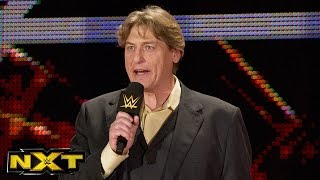 Sami Zayn gets a TakeOver: Dallas surprise from William Regal :  WWE NXT, March 16, 2016