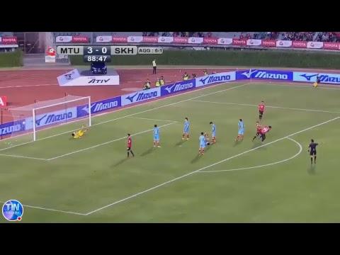 TRỰC TIẾP Muangthong United 4-0 Sanna Khánh Hoà (Chung kết lượt về Toyota Mekong Cup 2017) KT