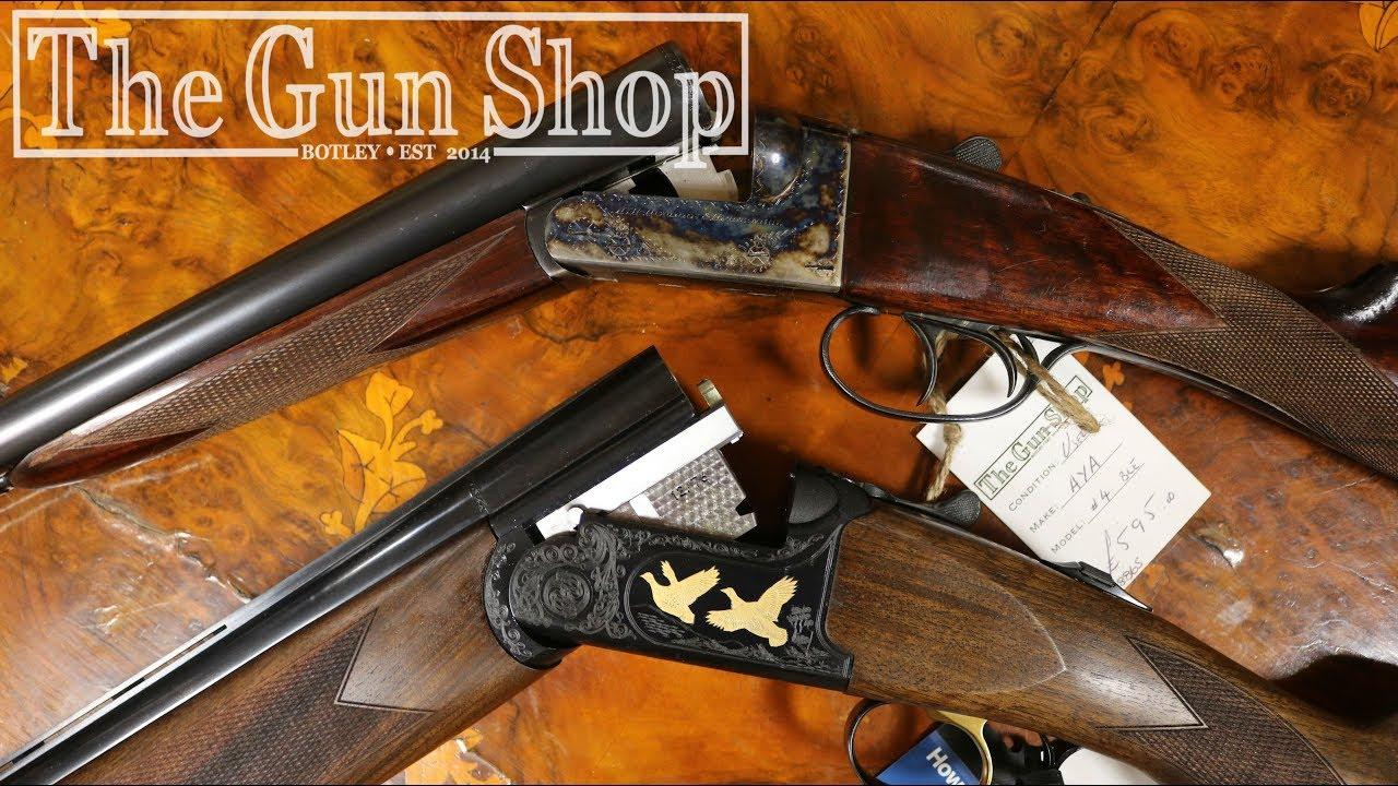Side by Side VS Over Under Shotgun - The Gun Shop