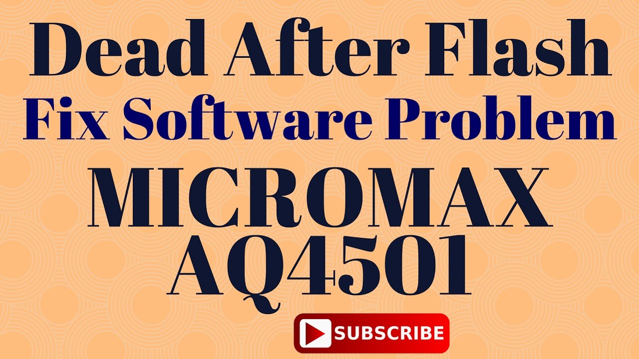 Micromax AQ4501 not connect or Dead Solution डेड और नॉट कनेक्ट सलूशन