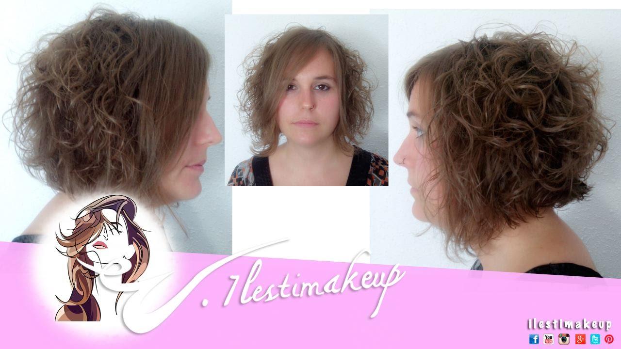 Corte melena corta youtube - Peinados melena corta ...