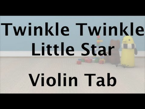 Learn Twinkle Twinkle Little Star on Violin - How to Play Tutorial