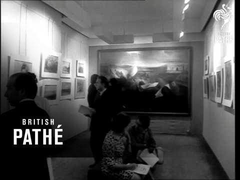 Annigoni At His Own Exhibition, Upper Grosvenor Street AKA Annigoni Exhibition (1966)