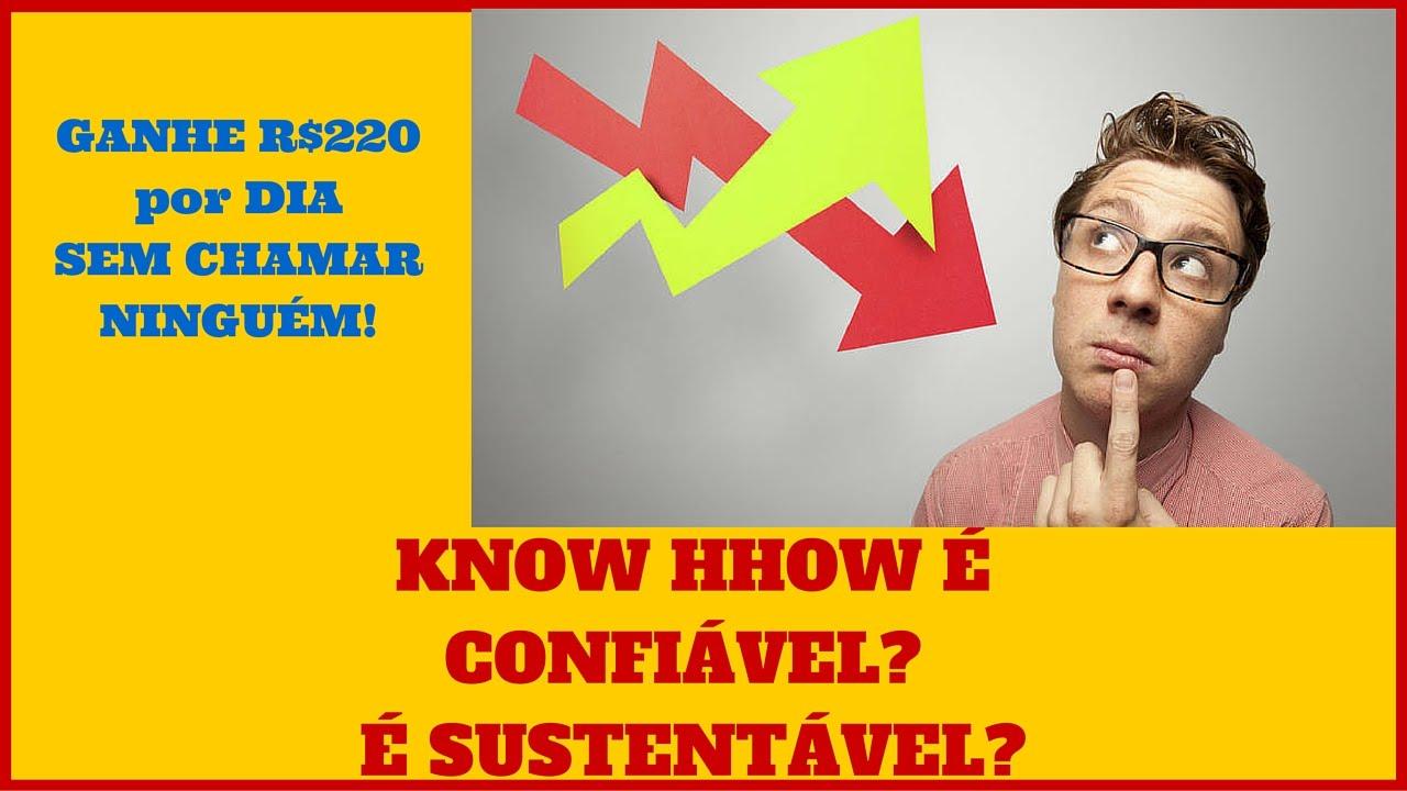 A empresa KNOW HHOW é Sustentável? é confiável? Ganhe R$220 por dia sem chamar ninguém! - YouTube