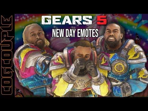 GEARS 5 The New Day | Gears 5 Big E, Kofi Kingston, Xavier Woods -The silly side of Gears of war |