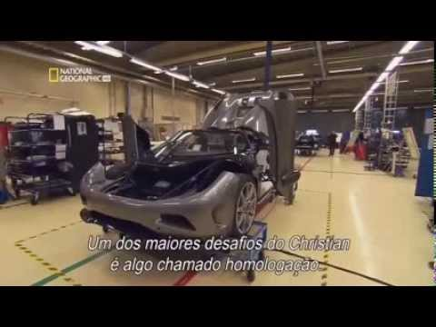 Koenigsegg  Mega Ultimate Factories   Super Cars    National Geographic Documentary Science