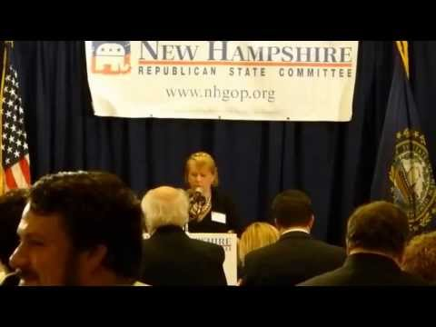 Tammy Simmons' Benediction at N.H. GOP Liberty Dinner