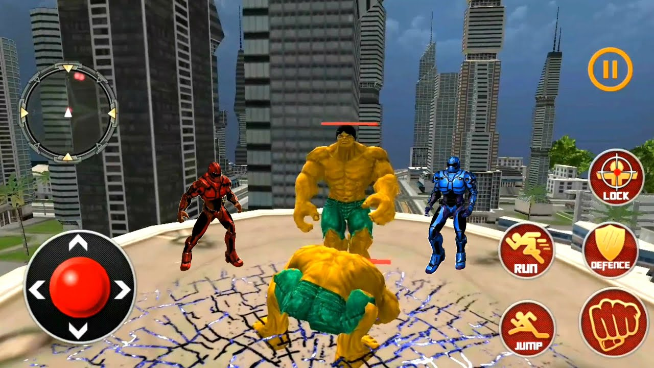 Incredible Monster Superhero City Robot Superhero Monster Battle | Monster Vs Robot - Best GamePlay