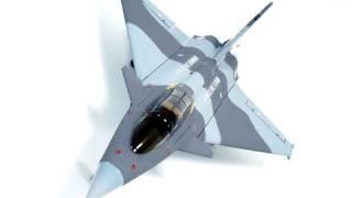 The Dassault Rafale EDF Electric Rc jet