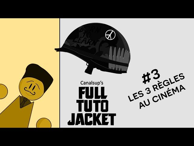 [Les Tutos Média] Full Tuto Jacket - #03 les 3 règles au cinéma