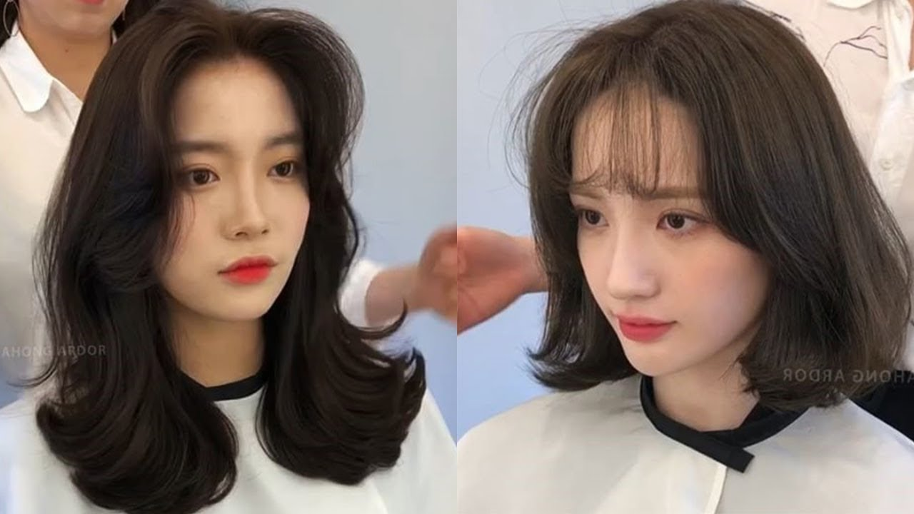 Hairstyles 2019 Female With Bangs: Easy Cute Korean Hairstyles 2019 😂 Amazing Hair