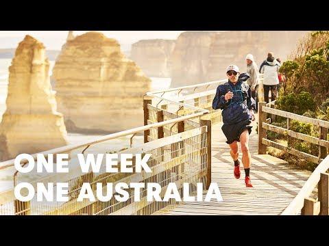 Triathlete Trail Runs Across Australia In 7 Days