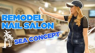 Nails Today Show™ with Di Ai Hong Sam-Remodeling Nail Salon Ep 7 / Modern Nails in SC