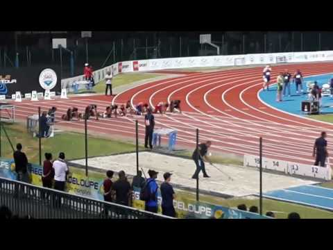 André Degrasse ,May 2017 Nesta Carter , Mike Roger Final 100M Guadeloupe Meeting