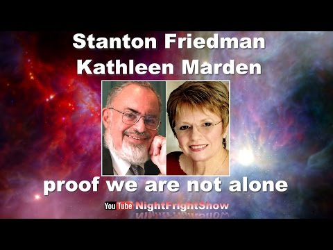 STANTON FRIEDMAN KATHLEEN MARDEN Alien Abductions UFO video Night Fright Show / Brent Holland