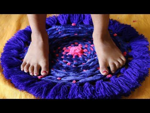 DIY: Amazing! Doormats With Waste Clothes    How to make beautiful doormat at home - Doormat making