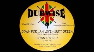 Judy Green - Down For Jah Love (& Dub)