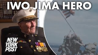 104-year-old WWII vet recalls Battle of Iwo Jima 75 years later | New York Post