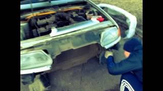 видео Замена переднего бампера на ВАЗ-2114