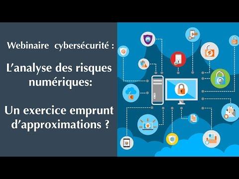 """Webinaire [cybersécurité] : """"L'analyse des risques numériques"""""""
