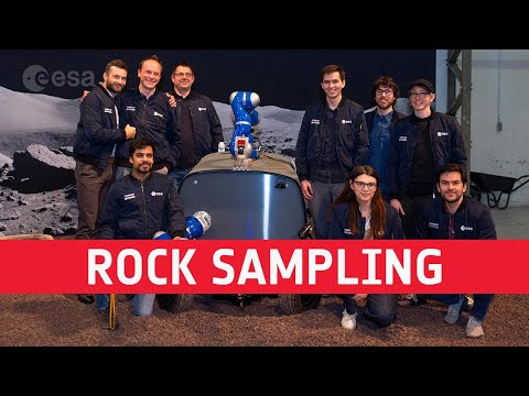 Rock sampling from space  Analog-1