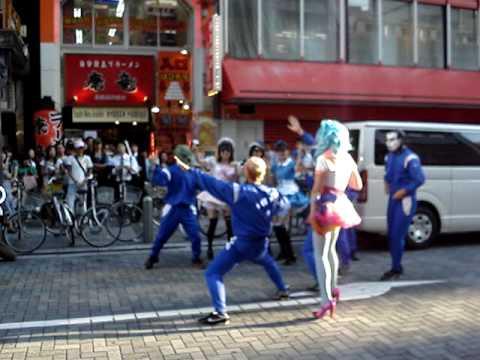kirsten Dunst Akihabara Making-Off Turning Japanese