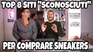 """Migliori 8 Siti """"Sconosciuti"""" Dove Comprare Le Sneakers ITA"""