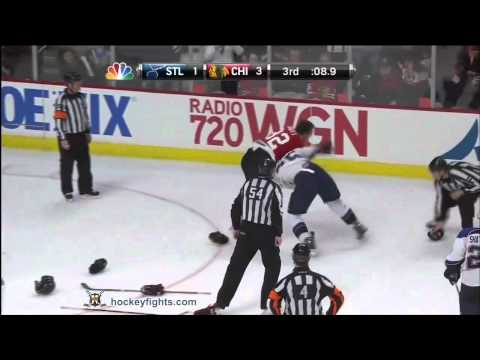 Ryan Reaves vs John Scott Feb 19, 2012