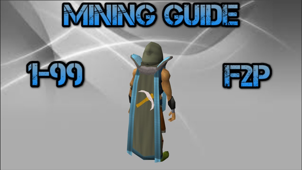 F2p osrs 1 99 mining guide f2p old school runescape for Runescape exp table 1 99