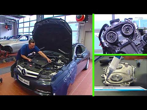 Mercedes-Benz – How to remove / install the chain tensioner | Engine M276, M278