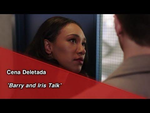 """The Flash • Cena Deletada """"Barry And Iris"""". (Legendado)"""